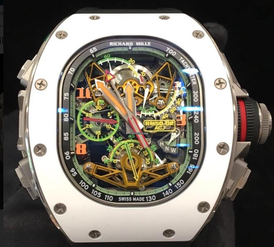 Most Expensive Richard Mille Replica Tourbillon Split Second Chrono