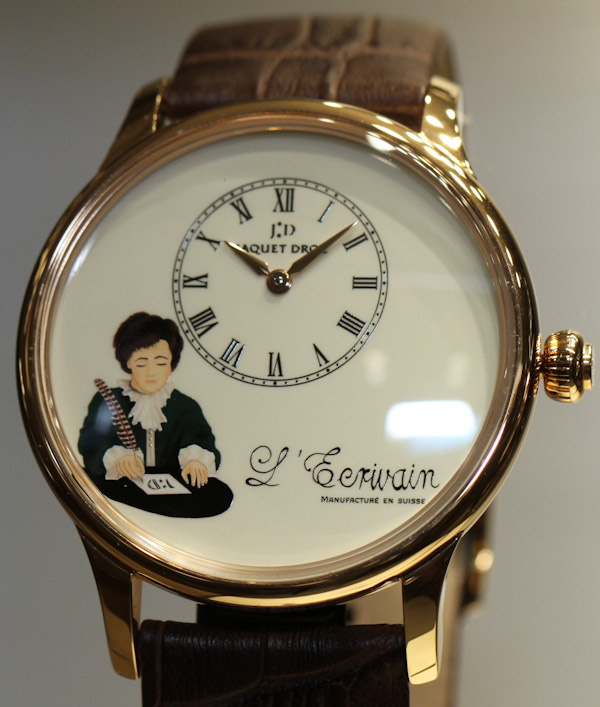 "Jaquet Droz ""The Writer"" Automata: Awesome Antique Android Watch Releases"