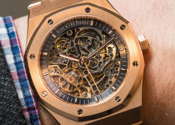 Audemars Piguet Royal Oak Double Balance Wheel Openworked Watches Hands-On Hands-On