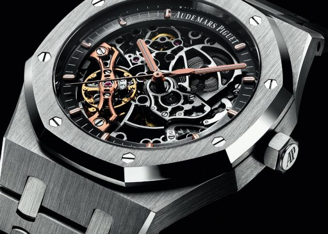 Audemars Piguet Royal Oak Double Balance Wheel Openworked Watch Watch Releases