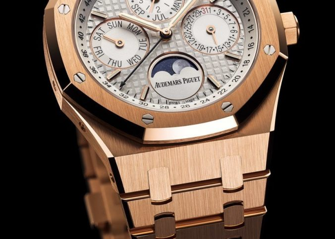 Four New Audemars Piguet Royal Oak Selfwinding Replica Royal Oak Perpetual Calendar Watches For 2015 Watch Releases