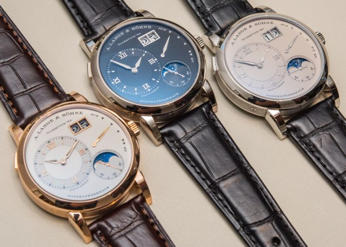 Updated A. Lange & Söhne Lange 1 Moon Phase Watch With Day/Night Indicator Watch Releases