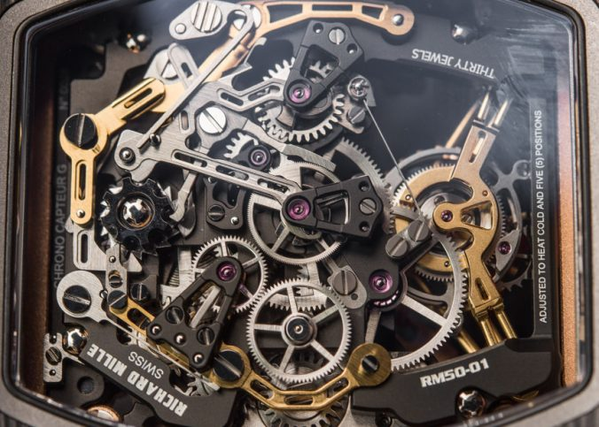 Richard Mille RM 50-01 G-Sensor Tourbillon Chronograph Watch Hands-On Hands-On