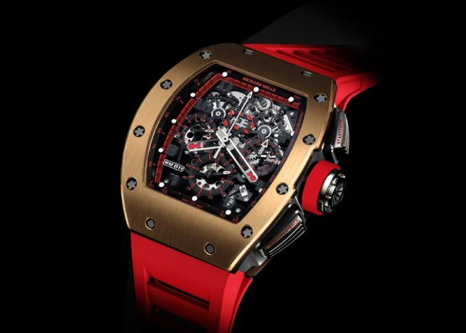 Richard Mille 011 Red Demon