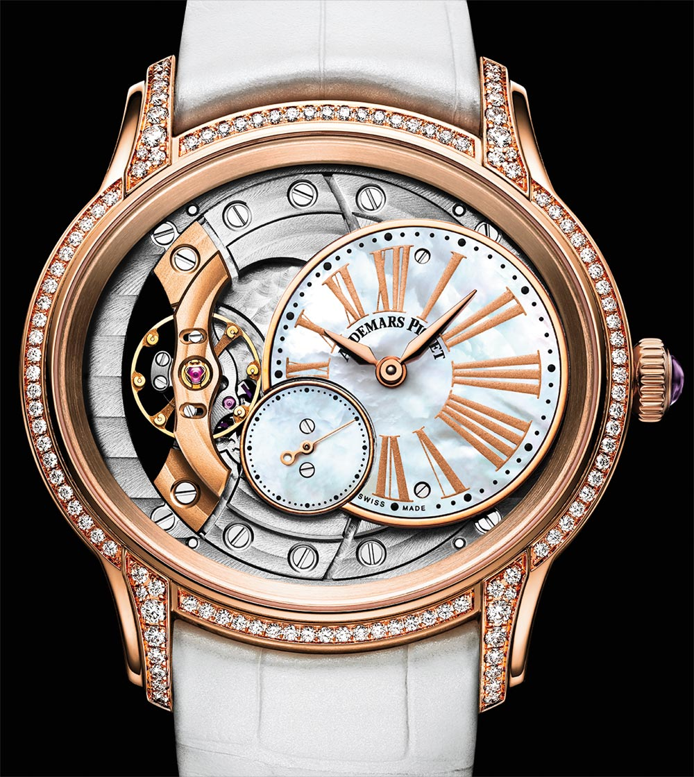 New Audemars Piguet Millenary Strap Replica Millenary Ladies' Watches For 2018 Watch Releases