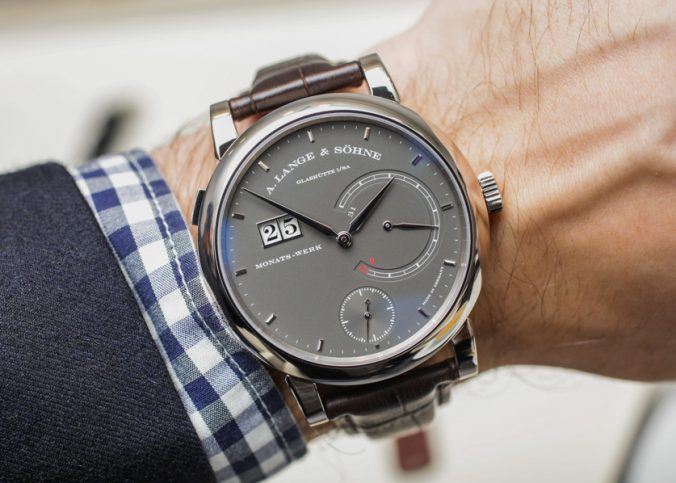 A. Lange & Söhne Lange 31 Limited Edition Watch With 31-Day Power Reserve Hands-On Hands-On