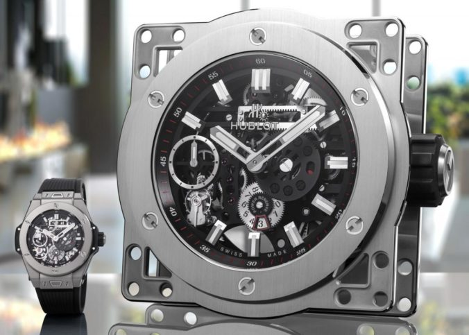 Hublot MECA-10 Clock Is A Maxiature Of replica Wristwatch